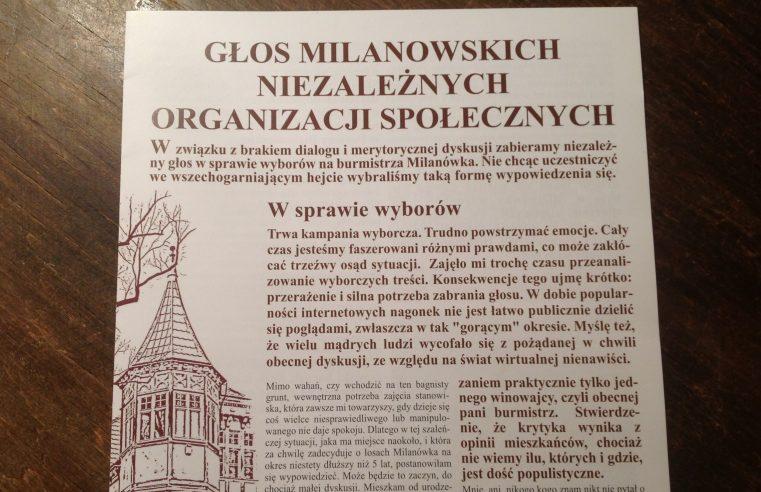 Głos organizacji
